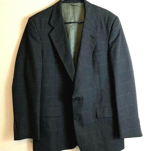 Christian Dior Other - CHRISTIAN DIOR MONSIEUR Men's Plaid Suit Jacket Si